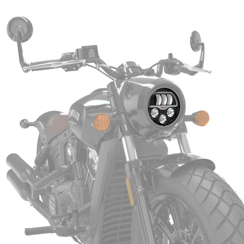 Indian Motorcycle 5 3 4 Quot Pathfinder Led Headlight Moore